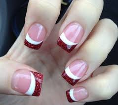 best 25 glitter french tips ideas on pinterest silver french