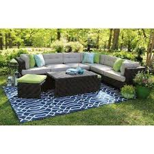 sectional patio conversation sets outdoor lounge furniture the