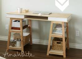 How To Build A Small Computer Desk by Diy Desk 15 Easy Ways To Build Your Own Bob Vila