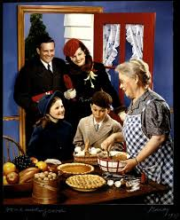 file mccall u0027s magazine cover family arriving in the kitchen for