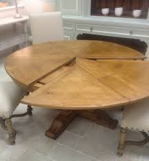 extendable round dining table 60 round extendable solid wood distressed dining table extends to
