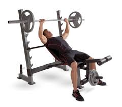 bench olympic weight bench set inside voguish golds gym xrs20