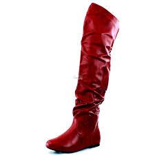 womens flat boots size 12 size 12