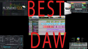 the best daw digital work audio workstation 2017 youtube