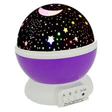 Lamps For Kids Room by Amazon Com Zhoppy Night Light For Kids Star And Moon Starlight