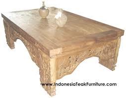 Bali Coffee Table Carved Wood Coffee Table Bali Indonesia Bali Crafts