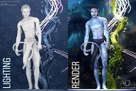 avatar avatar 3d movie character concept fan art