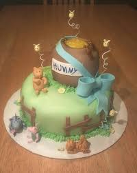 winnie the pooh baby shower cakes winnie the pooh baby shower cake by ckiecrumb on deviantart