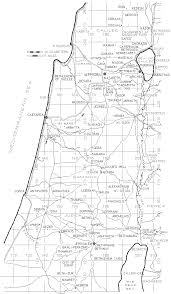 Judea Map Jesus U0027 Evangelism Galilee Judea Samaria Urantia Book Studies