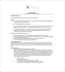 10 real estate marketing plan free sample example format