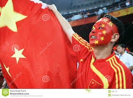 Chineses Flag Chinese Man Screaming With Chinese Flag Editorial Image Image