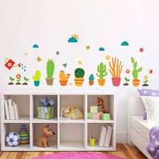 stickers cuisine enfant jardin fleur plantes stickers muraux pépinière bébé enfants chambre