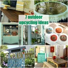 upcycled garden decor u2013 home design and decorating