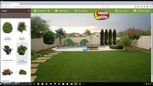 how to use backyard builder app by moon valley nurseries youtube