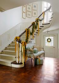 The Banister 40 Gorgeous Christmas Banister Decorating Ideas Christmas