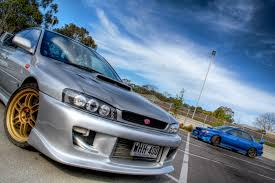 subaru gc8 cars silver hdr photography subaru vehicles subaru impreza