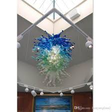 Glass Blown Chandelier Murano Glass Blown Chandelier Lightings Shade Color Hanging L