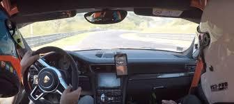 porsche velvet porsche u0027s lars kern delivers 7 06 nurburgring btg driving lesson