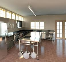 stainless steel kitchen island with seating kitchen island prep table home design inspirations