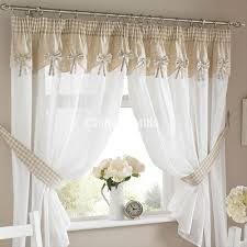 Kitchen Cabinet Pelmet 61a9f2be4eb3 Bows Readymade Kitchen Curtains With Attached Pelmet