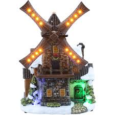 miniature halloween village holiday village decorations