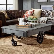safavieh cheyenne grey coffee table trb1001h the home depot