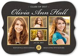 graduation announcements proudly stated 5x7 announcement graduation announcements