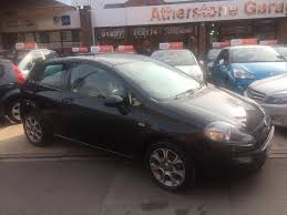 Used Fiat Punto Evo Black For Sale Motors Co Uk