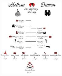 Destination Wedding Itinerary Wedding Schedule Templates U2013 29 Free Word Excel Pdf Psd Format