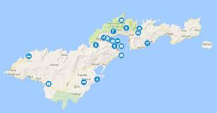 American Samoan Flag Map Of Samoa Upolu Accommodation U0026 Beach Resorts Beautiful