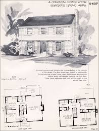 colonial style floor plans 1955 garrison colonial national plan service midcentury house