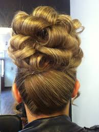 barrel curl hairpieces barrel curl updo hair pinterest barrel curls updo and up dos