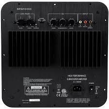 Dayton Audio Spa1000 1000w Subwoofer Plate Amplifier