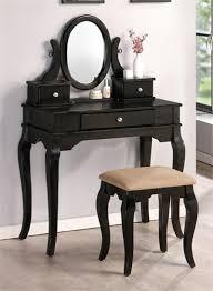 Vanity Table And Bench Set Best 25 Black Vanity Table Ideas On Pinterest Black Makeup
