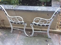 wrought iron bench ends used wrought iron bench ends in bs37 yate for 22 00 shpock