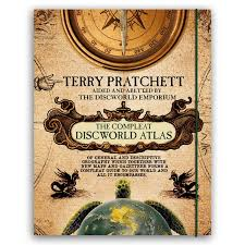 discworld map the compleat discworld atlas terry pratchett books discworld maps