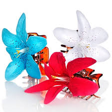 flower hair clip summer accessories flower hair flower hair and flower