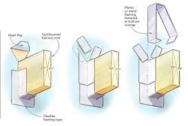 Cantilevered Deck by Cantilevered Joist Flashing Fine Homebuilding