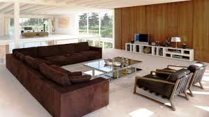 Decorating Ideas For Living Rooms With Brown Leather Furniture How To Decorate A Stylish Living Room With Corner Sofa Youtube