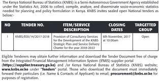 national bureau of statistics 2017 kenya national bureau of statistics consultancy services