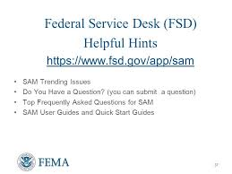 federal service help desk pre decisional draft not for release to third parties system for