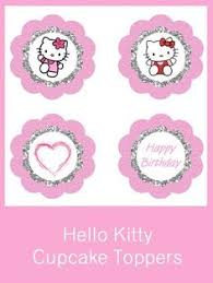 hello cupcake toppers free carnation pink checker pattern hello cupcake toppers