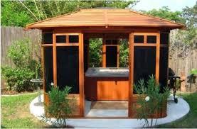 Small Backyard Gazebo Ideas Deck Ideas With Gazebo Outside Patio Gazebos Pergola Plans Unique