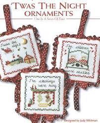 jbw designs twas the ornaments cross stitch pattern