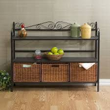 Wall Mounted Bakers Rack Best 25 Bakers Rack Kitchen Ideas On Pinterest Bakers Rack