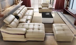 china sofa set designs ivory sectional living room 6pieces set sofa set modern design
