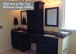 custom bathroom lighting design in greensboro nc