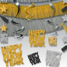 New Year Decorations Ireland by New Years Eve Accessories Hanging Decorations Hats Kits