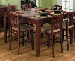 home design square dining table seats seater round photo within