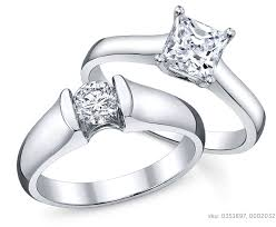 Solitaire Wedding Rings by Solitaire Engagement